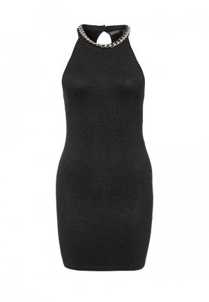 Платье QED London. Цвет: черный