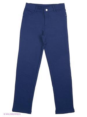 Трикотажные брюки Modis. Цвет: темно-синий