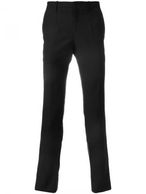 Классические брюки-чинос Wooyoungmi. Цвет: синий