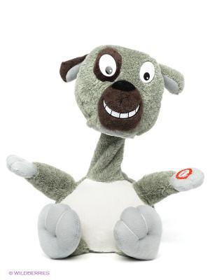 Интерактивная игрушка Собака Woody O'Time. Цвет: серый, белый