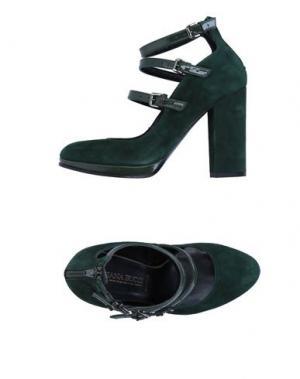 Туфли ELIANA BUCCI. Цвет: темно-зеленый