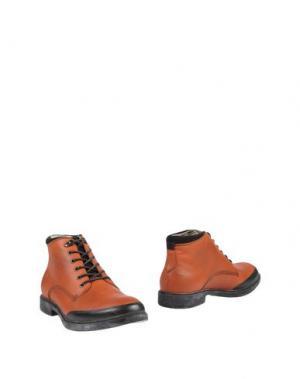 Полусапоги и высокие ботинки SMITH'S AMERICAN. Цвет: оранжевый
