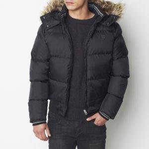 Куртка стеганая SCHOTT. Цвет: темно-синий,черный