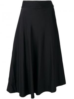 Плиссированная юбка миди Bellerose. Цвет: синий