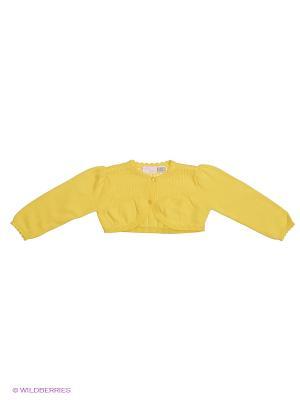 Кардиган CHICCO. Цвет: желтый