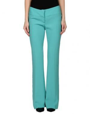 Повседневные брюки SCRUPOLI. Цвет: светло-зеленый