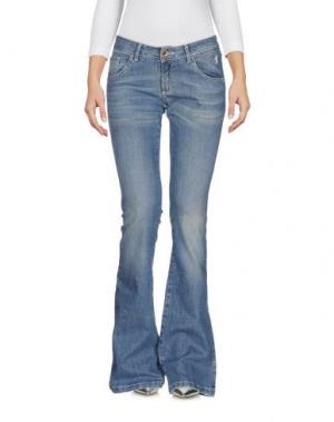 Джинсовые брюки JAGGY. Цвет: синий