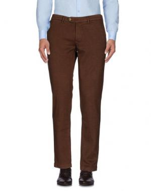 Повседневные брюки ZERO. Цвет: хаки