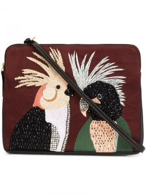 Клатч Lovebirds Lizzie Fortunato Jewels. Цвет: чёрный
