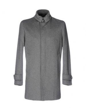 Пальто JULIAN KEEN. Цвет: серый