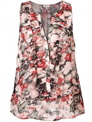 Floral print top Joie. Цвет: розовый и фиолетовый