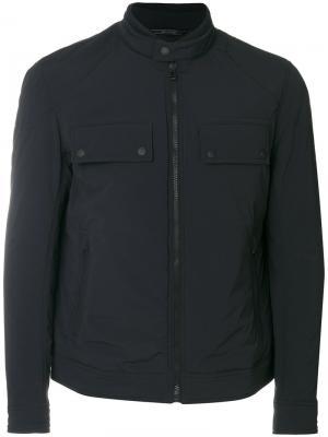 Куртка на молнии Belstaff. Цвет: синий