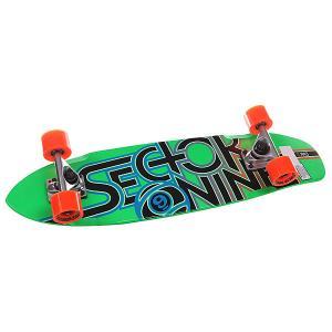 Скейт круизер  Wedge Complete Multi 7.75 x 31 (78.7 см) Sector 9. Цвет: зеленый