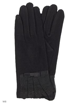 Перчатки Punta. Цвет: черный