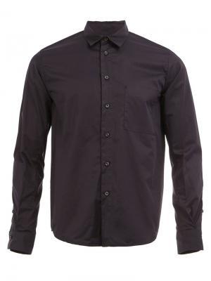 Рубашка с полосой 08Sircus. Цвет: синий