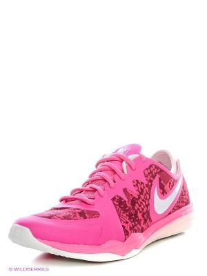 Кроссовки W NIKE DUAL FUSION TR 3 PRINT. Цвет: розовый