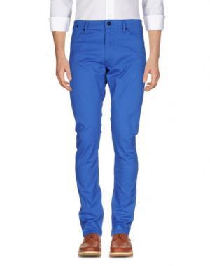 Повседневные брюки 55DSL. Цвет: лазурный