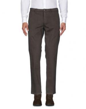 Повседневные брюки RE.BELL. Цвет: темно-зеленый