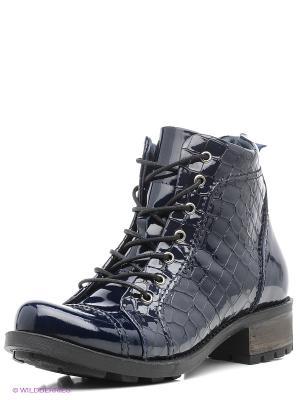 Ботинки Atiker. Цвет: синий
