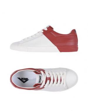 Низкие кеды и кроссовки PONY. Цвет: красный