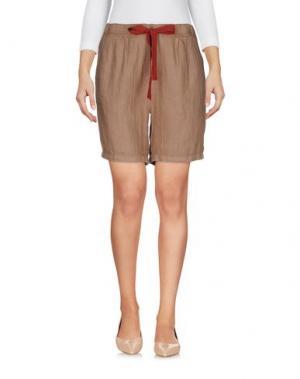Повседневные шорты M!A F. Цвет: коричневый