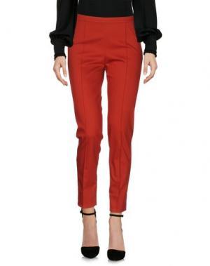 Повседневные брюки FABERGE&ROCHES. Цвет: кирпично-красный