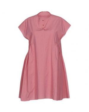 Короткое платье A.B APUNTOB. Цвет: кирпично-красный