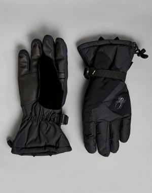 Spyder Лыжные перчатки Mvp Conduct. Цвет: черный