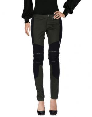 Повседневные брюки COSTUME NEMUTSO. Цвет: зеленый-милитари