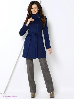 Пальто Shokolat. Цвет: синий