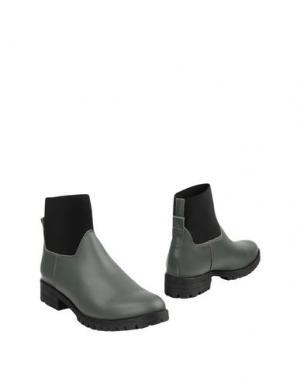 Полусапоги и высокие ботинки MAISON SHOESHIBAR. Цвет: серый