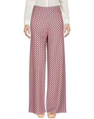 Повседневные брюки VICOLO. Цвет: красный