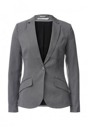 Пиджак Zarina. Цвет: серый