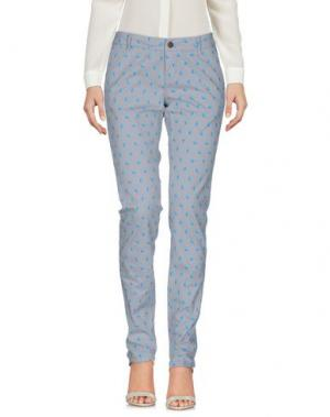 Повседневные брюки SUN 68. Цвет: светло-серый