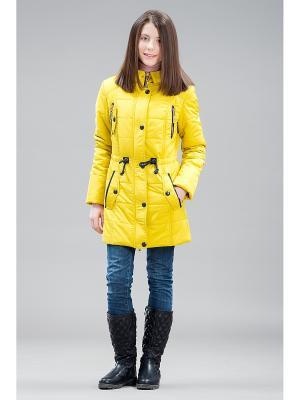 Пальто Jan Steen. Цвет: горчичный