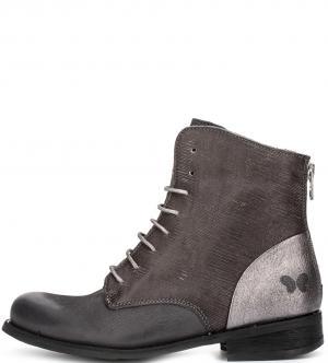 Ботинки Felmini. Цвет: коричневый, серый