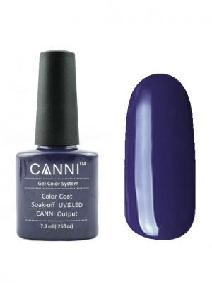 Гель лак №30 CANNI. Цвет: темно-синий