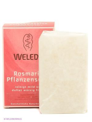 Розмариновое мыло 100 гр 9882 Weleda. Цвет: красный