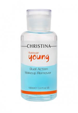 Средство для снятия макияжа Christina. Цвет: голубой