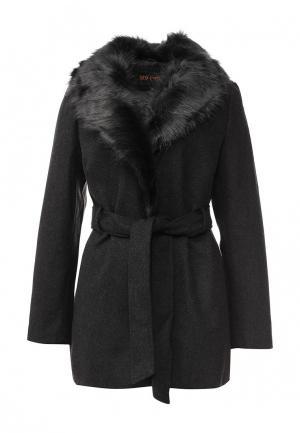 Пальто QED London. Цвет: серый