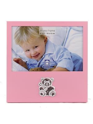 Фоторамка Наш малыш Русские подарки. Цвет: розовый