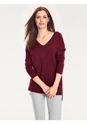 Пуловер B.C. BEST CONNECTIONS by Heine. Цвет: бордовый, серо-коричневый, серый меланжевый, синий, темно-зеленый, черный
