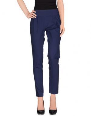 Повседневные брюки DIVINA. Цвет: темно-синий