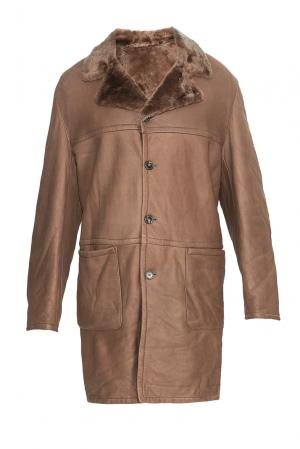 Дубленка 176055 Givenchy. Цвет: коричневый