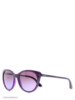 Очки солнцезащитные Vogue. Цвет: лиловый