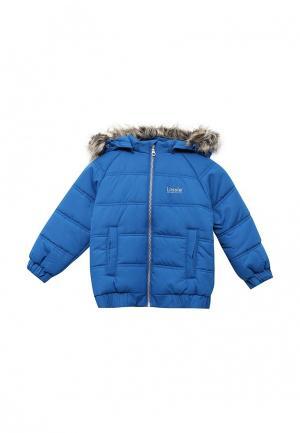 Куртка утепленная Lassie. Цвет: синий
