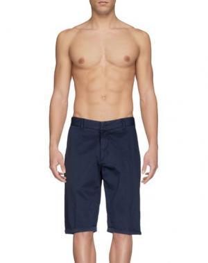 Пляжные брюки и шорты BAGUTTA. Цвет: темно-синий