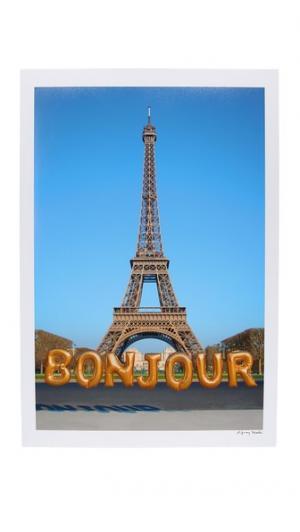 Вертикальный принт в виде фотографии up & away bonjour Gray Malin