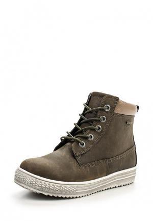Ботинки Зебра. Цвет: хаки