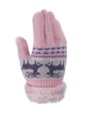 Перчатки детские Cascatto. Цвет: персиковый